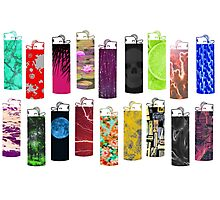 Lighter Collection Photographic Print