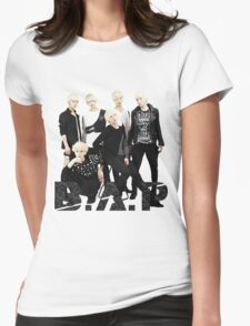 BAP KPOP GROUP PHOTO Womens Fitted T-Shirt