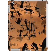 ancient cave drawings in libya  iPad Case/Skin