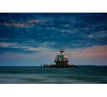 Gardiners Bay at Dusk Photographic Print