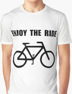 Enjoy Ride Bike Graphic T-Shirt