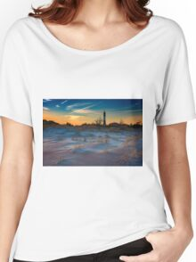 Sunset on Fire Island Women's Relaxed Fit T-Shirt
