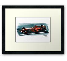 2000 Ferrari F1-2000 Framed Print