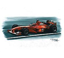 2000 Ferrari F1-2000 Photographic Print