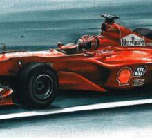 2000 Ferrari F1-2000 Sticker