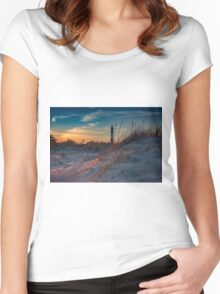 Fire Island Dunes Women's Fitted Scoop T-Shirt