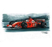 2001  Ferrari F2001 Photographic Print