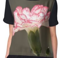 January's flower  Chiffon Top
