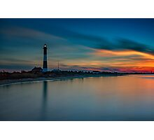 Day's End on Fire Island Photographic Print
