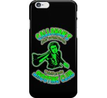 Callahan's Shooting Club Colour 2 iPhone Case/Skin