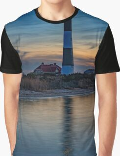 Fire Island Lighthouse Graphic T-Shirt