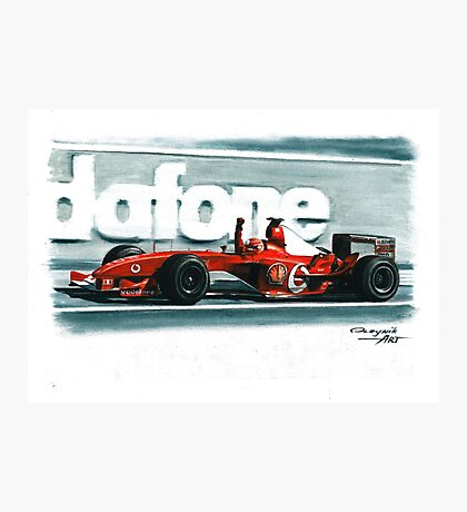 2003 Ferrari F2003-GA Photographic Print