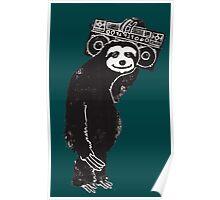 Sloth Life Poster