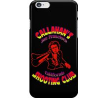 Callahan's Shooting Club Colour 3 iPhone Case/Skin