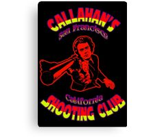 Callahan's Shooting Club Colour 3 Canvas Print