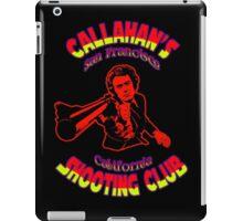 Callahan's Shooting Club Colour 3 iPad Case/Skin