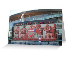 Emirates Stadium, Arsenal, London Greeting Card