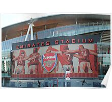 Emirates Stadium, Arsenal, London Poster
