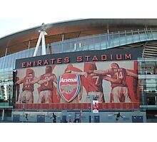 Emirates Stadium, Arsenal, London Photographic Print