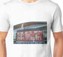Emirates Stadium, Arsenal, London Unisex T-Shirt