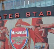 Emirates Stadium, Arsenal, London Sticker