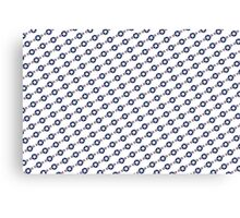 US Airforce style insignia pattern Diag version Canvas Print