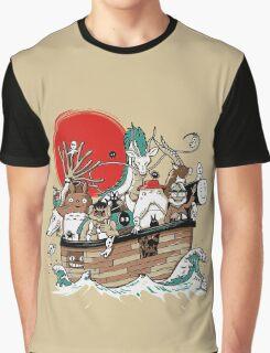 Miyazaki's Ark Graphic T-Shirt