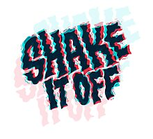 shake it off Photographic Print