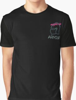 Retro Vintage Neon Night in Armour Graphic T-Shirt