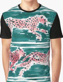 SPEEDY CHEETAHS - EMERALD Graphic T-Shirt