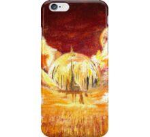 Gallifreyan landscape iPhone Case/Skin