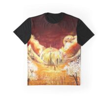 Gallifreyan landscape Graphic T-Shirt