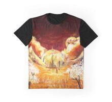 Gallifreyan landscape Graphic T-Shirt
