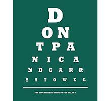 Eye Test Photographic Print