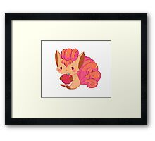 Lil Vulpix Framed Print