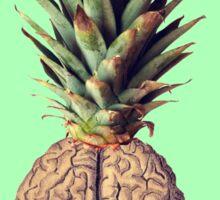 Pinebrain (pineapple) Sticker