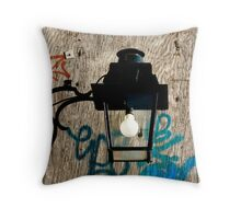Scribbled Art Throw Pillow