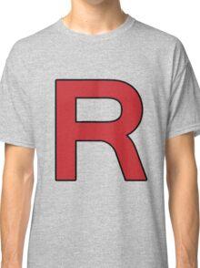 Pokemon - Team Rocket Logo Classic T-Shirt