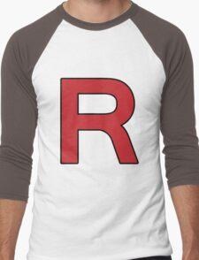 Pokemon - Team Rocket Logo Men's Baseball ¾ T-Shirt