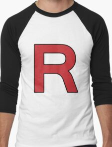 Pokemon - Team Rocket Logo Men's Baseball ¾ T-Shirt
