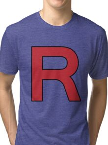 Pokemon - Team Rocket Logo Tri-blend T-Shirt