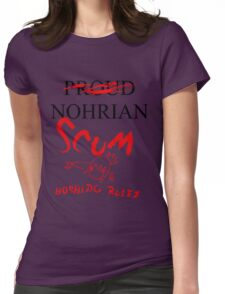 Nohrian Scum Womens Fitted T-Shirt
