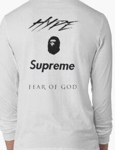Hype Bape Supreme Fear of God Long Sleeve T-Shirt