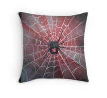 black widow  Throw Pillow