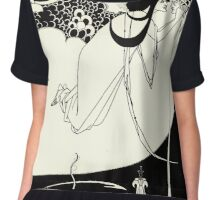 Aubrey Beardsley - Fantasy Illustration - Salome Chiffon Top