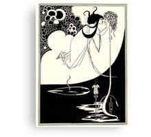 Aubrey Beardsley - Fantasy Illustration - Salome Canvas Print