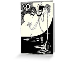 Aubrey Beardsley - Fantasy Illustration - Salome Greeting Card
