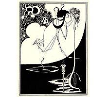 Aubrey Beardsley - Fantasy Illustration - Salome Photographic Print