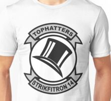 VFA-14 Tophatters Patch Unisex T-Shirt