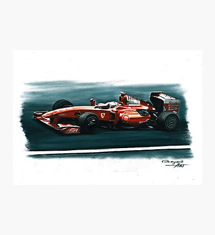 2009 Ferrari F60 Photographic Print